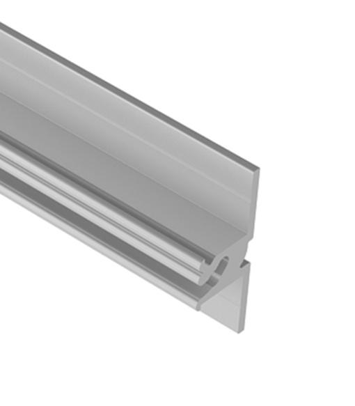 Profil aluminiowy do glazury B