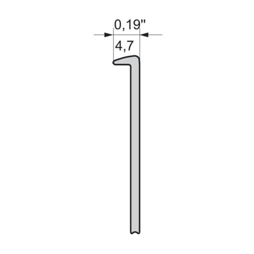 Listwa przyblatowa 28 mm