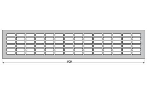Kratka wentylacyjna 227 cm2
