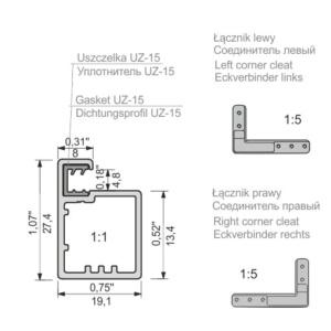 fronty aluminiowe Z-22