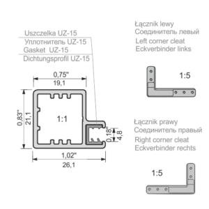 fronty aluminiowe Z-23